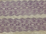 Feather Eyelet Lace Per Meter Lilac