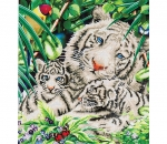 Diamond Dotz White Tiger and Cubs