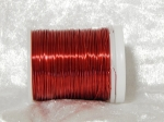 Beading Wire 24 Gauge Red 18m