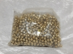 6mm Folley Bells Gold Pack 100