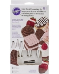 Wilton 12pc Mini Treats Decorating Set