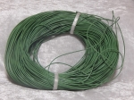 1mm Grass Green Round Leather Thonging