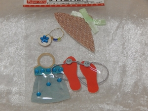 Paper Xtra Handmade Stickers - Summer Accessories