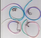 Fluoro Satin Necklace Cord 2mm with Clasp