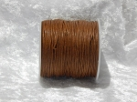 1mm Brown Waxed Cotton
