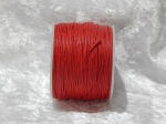 1mm Red Waxed Cotton