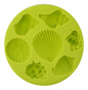 Silicone Mould Seashells (7)