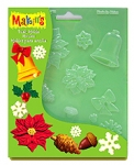 Makins Push Moulds - Christmas Nature