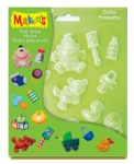 Makins Push Moulds - Baby