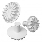 Set of 3 Sunflower/Gerbera/Daisy Plunger Cutters