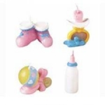 Wilton 4pc Baby Things Candle Set