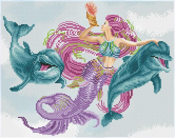 Diamond Dotz Diamond Art - Mermaid and Friends