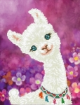 Diamond Dotz Diamond Art - Lulu Llama