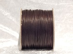 1mm Brown Round Imitation Leather Thonging