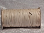 2mm Natural Round Imitation Leather Thonging