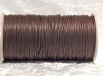 2mm Brown Round Imitation Leather Thonging